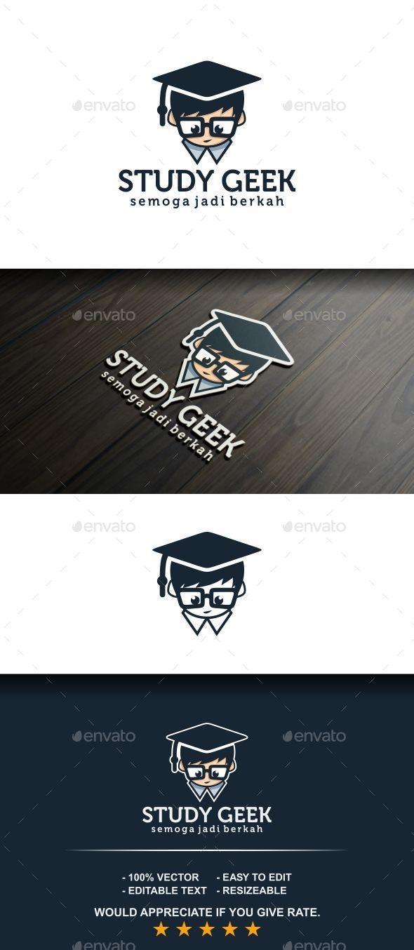 Study Geek - College Logo Templates