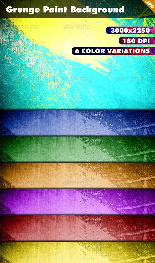 Grunge Paint Background - Backgrounds Graphics