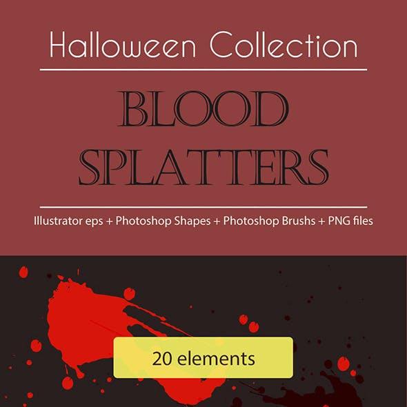 Halloween Collection - Blood Splatters