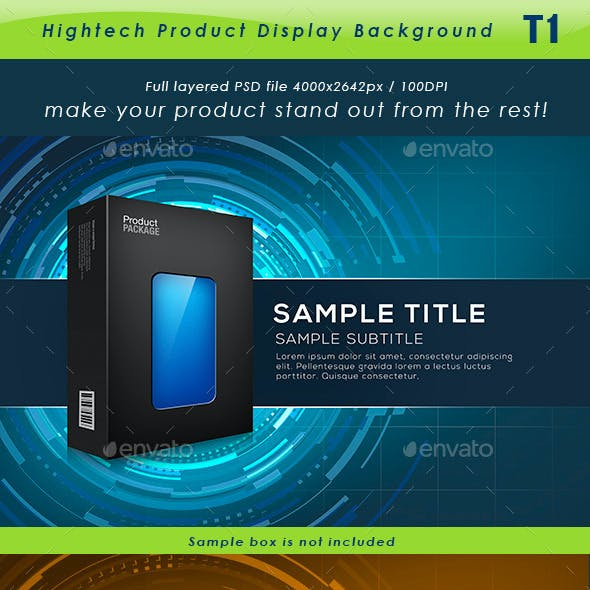 Hightech Product Background T1