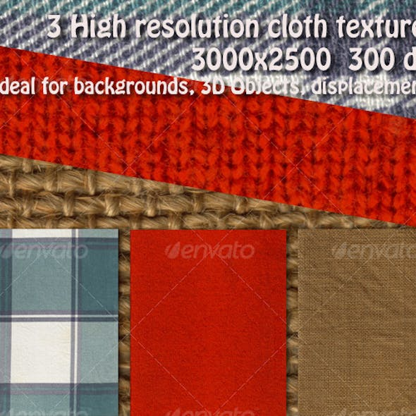 3 Cloth Texture Pack