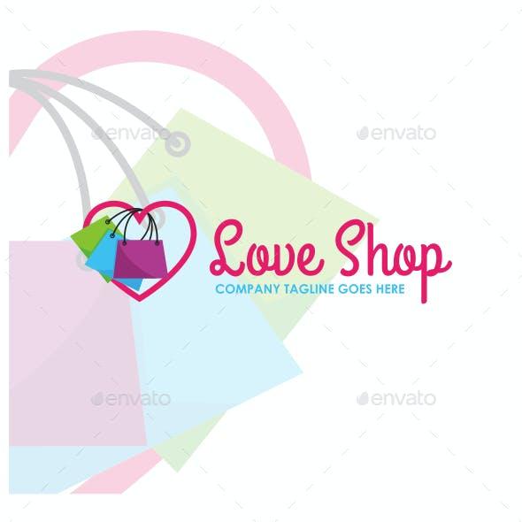 Love Shop - Fashion Logo