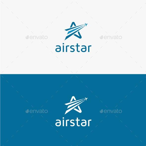 Air Star - Logo Template