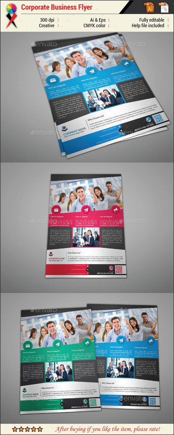Professional Creative Corporate Business Flyer - Corporate Flyers