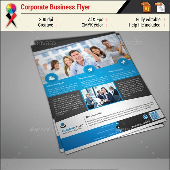 Professional Creative Corporate Business Flyer