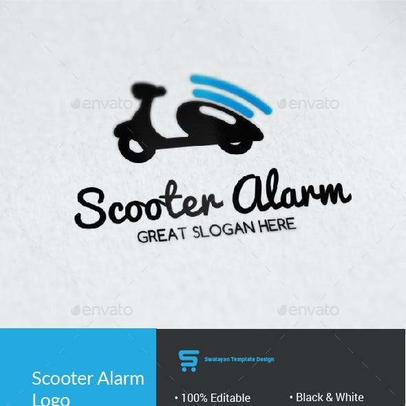 Scooter Alarm Logo