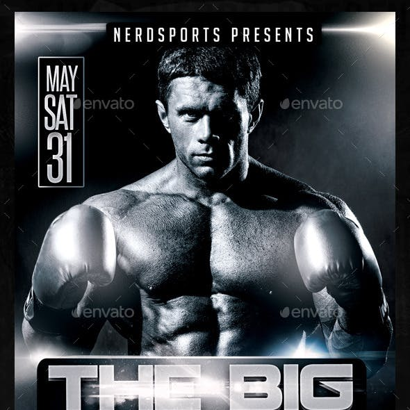 The Big Fight Sports Flyer