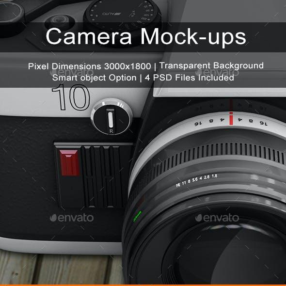 Camera Mock-ups