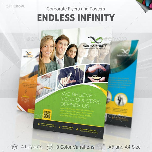 Flyer and Poster - Endless Infinity