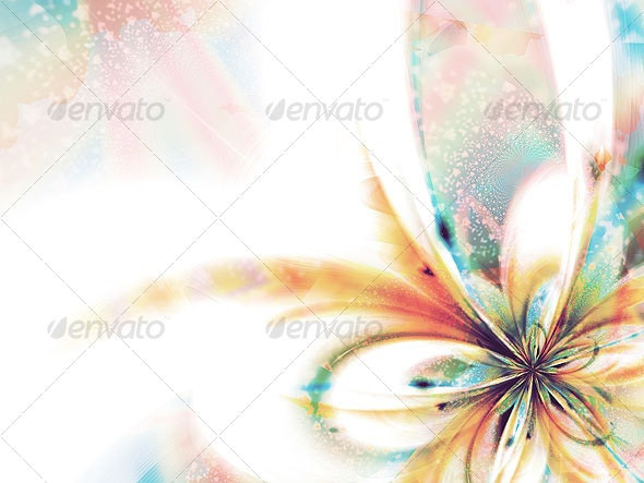 Butterflower - Abstract Illustrations