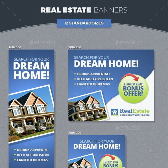 Real Estate Banner Ads