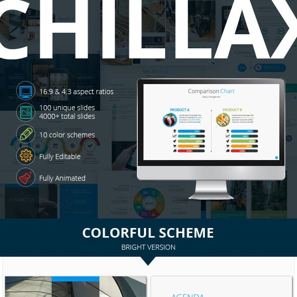 Chillax Multipurpose Presentation Template