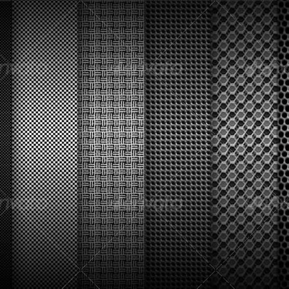 Fibers Carbon Backgrounds
