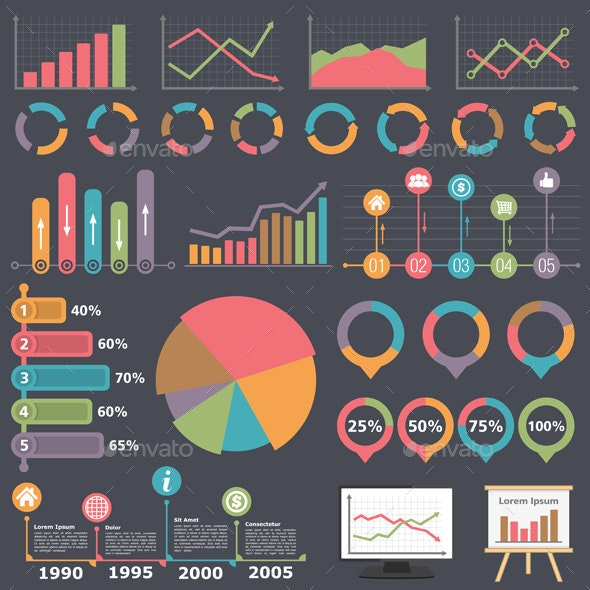 Business Infographic Elements - Business Conceptual