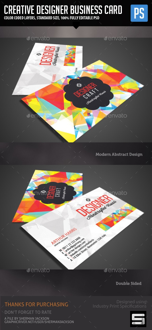 Creative Design Business Card By Premadepixels Graphicriver,Wine And Design Summerville Sc