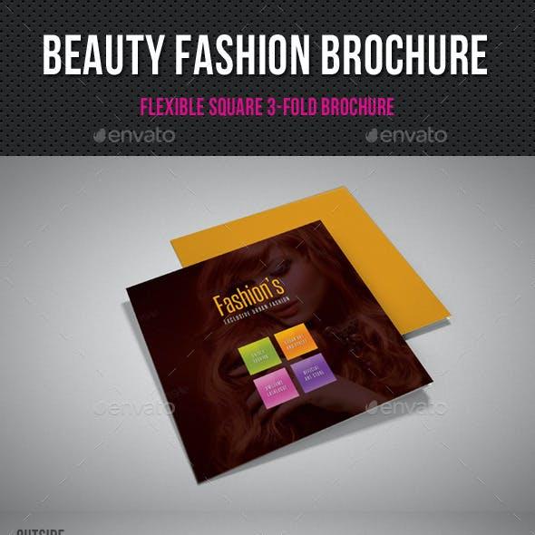 Beauty Fashion Square 3-Fold Brochure 01