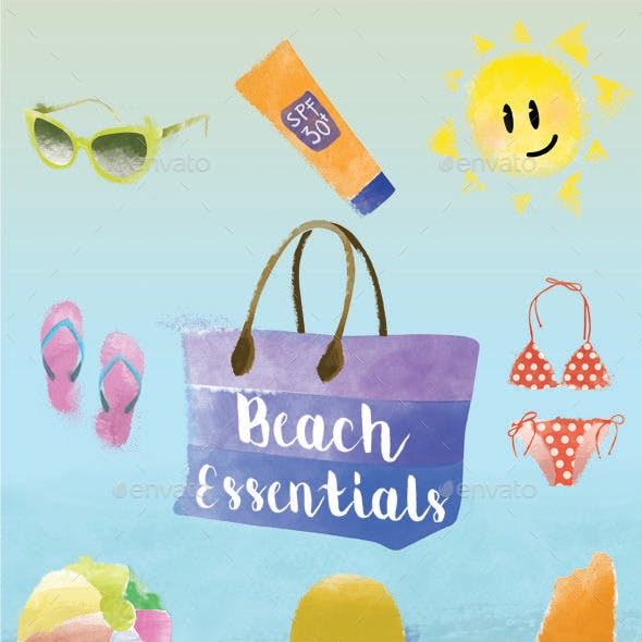 Beach Essentials Set