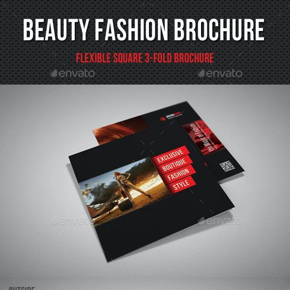 Beauty Fashion Square 3-Fold Brochure 03