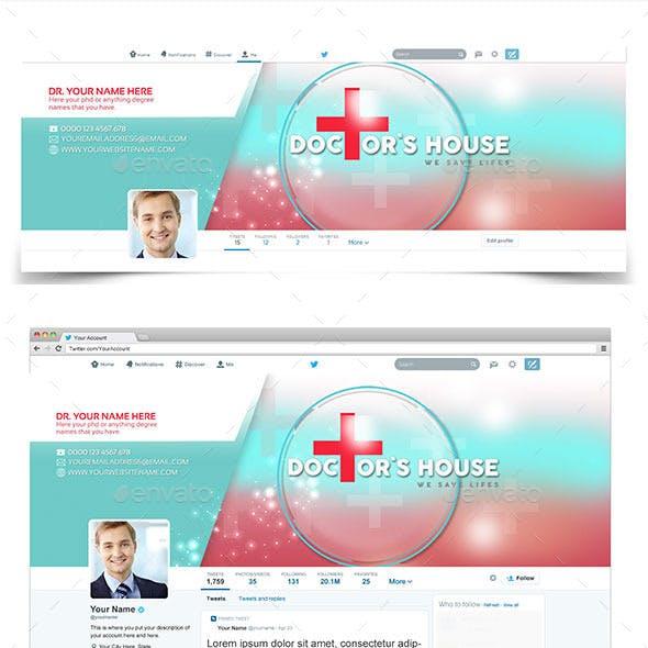 Doctor Twitter Profile Cover v1