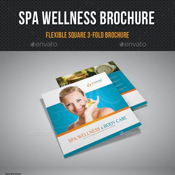 Spa Wellness Square 3-Fold Brochure 01