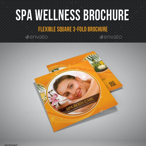 Spa Wellness Square 3-Fold Brochure 02