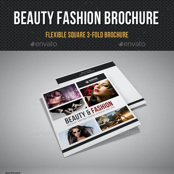 Beauty Fashion Square 3-Fold Brochure 02