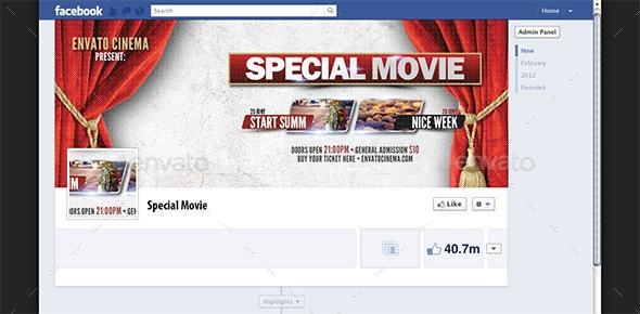 Special Movie Presents Facebook Cover - Facebook Timeline Covers Social Media