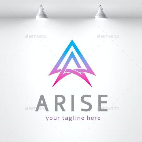 Arise - Letter A Logo