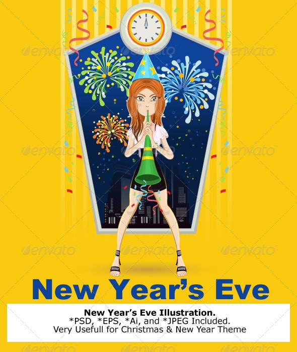 New Year Eve - New Year Seasons/Holidays