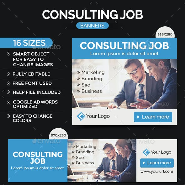 Consulting Banners