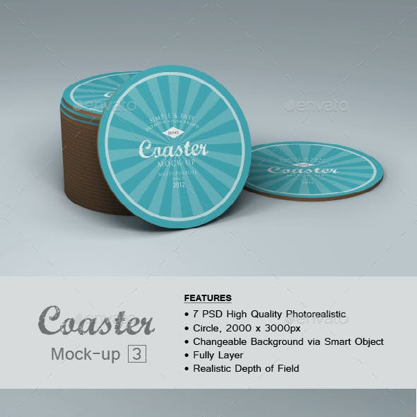 Coaster Mock-up 3