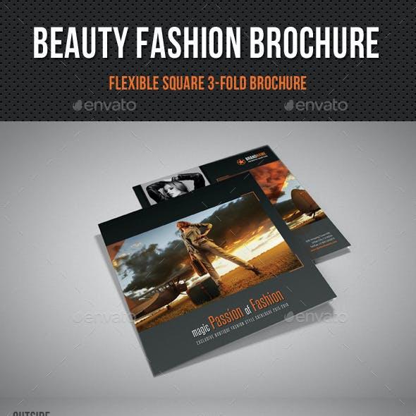 Beauty Fashion Square 3-Fold Brochure 04