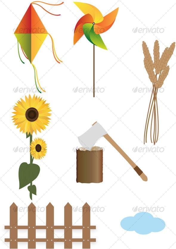 autumn items - Seasons Nature