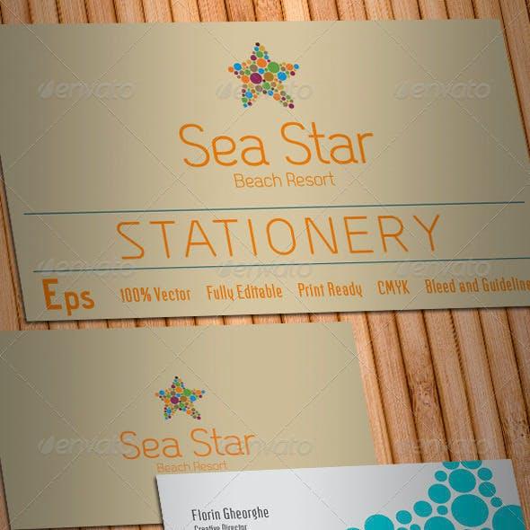 Sea Star Stationery