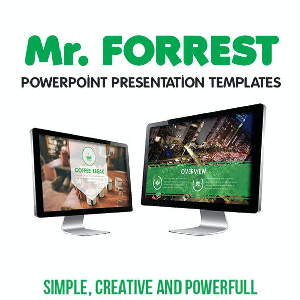 Mr Forest PowerPoint Template