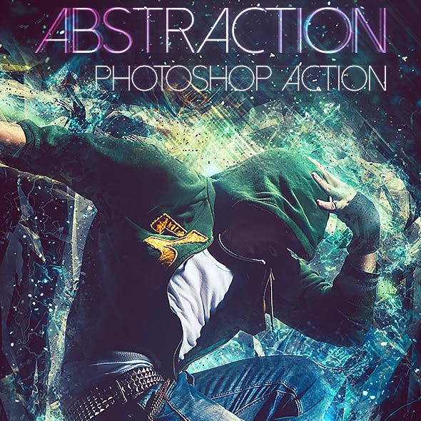 Abstraction Photoshop Action
