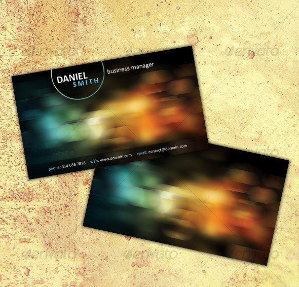 Business Card No. 3 - Creative Business Cards