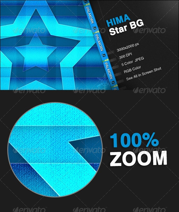 HIMA - 5 Star Background - Backgrounds Graphics