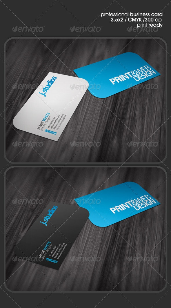 Modern&Clean Business Card - Corporate Business Cards