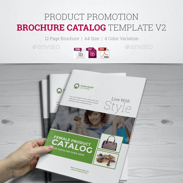 Product Promotion Catalog InDesign v2