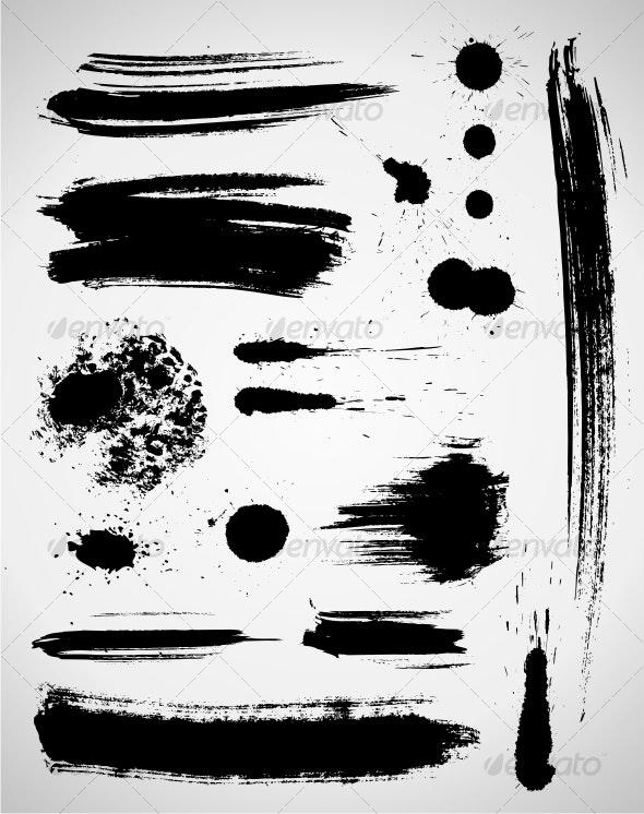 Grunge elements - Decorative Symbols Decorative