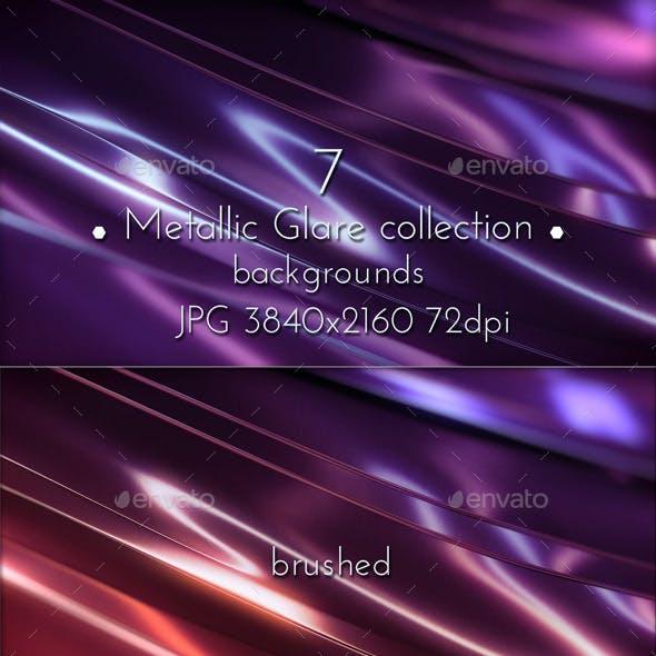 Metallic Glare Background