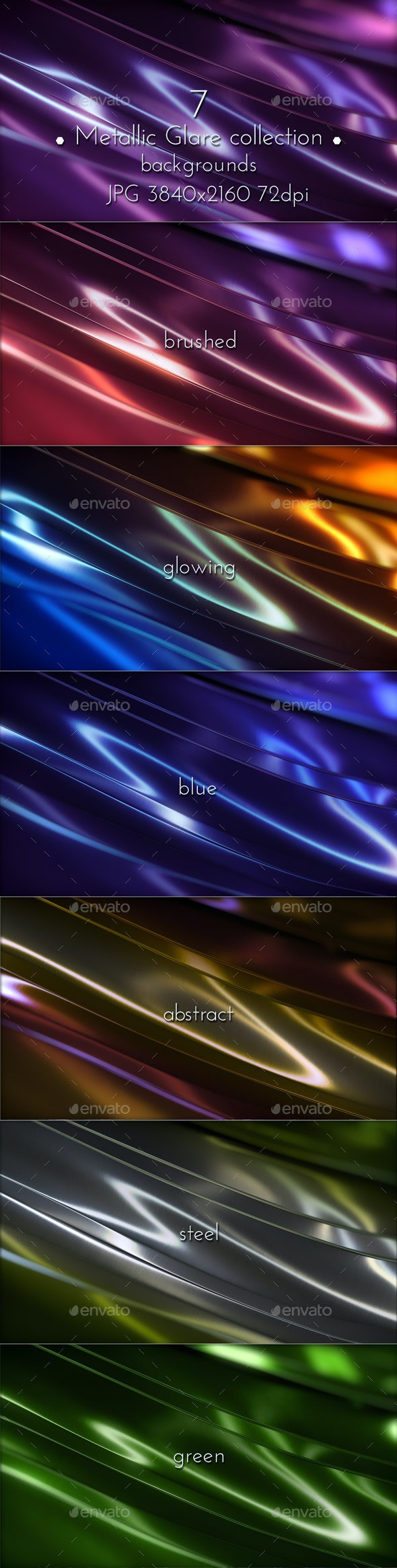 Metallic Glare Background - Abstract Backgrounds