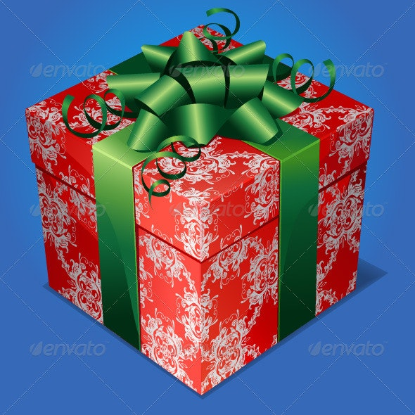 Gift Box - Christmas Seasons/Holidays