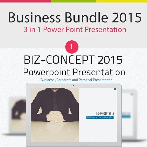 Business Bundle 3 in 1 Power Point Presentation