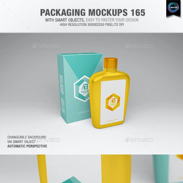 Packaging Mock-ups 165