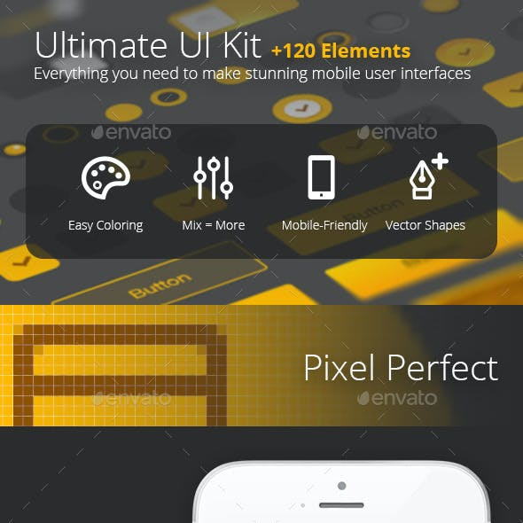 Ultimate UI Kit +120 Elements