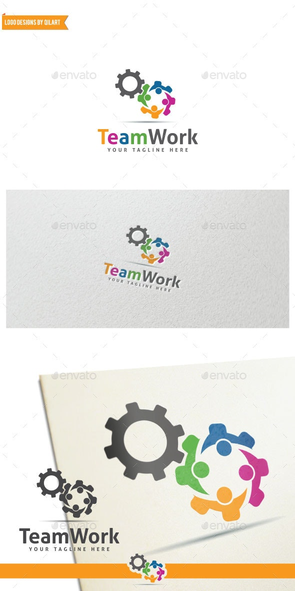 TeamWork - Abstract Logo Templates