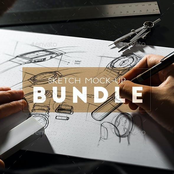 Sketch Mock-Up Bundle