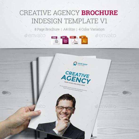 Creative Agency Brochure InDesign Template v1